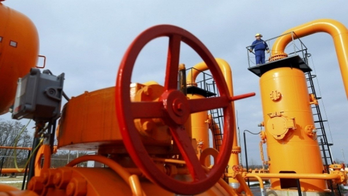 Украина резко нарастила поставки газа из России