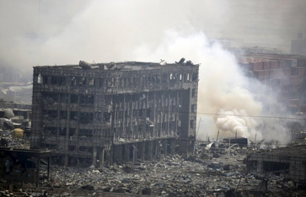 В Китае жертвами взрывов стали 114 человек