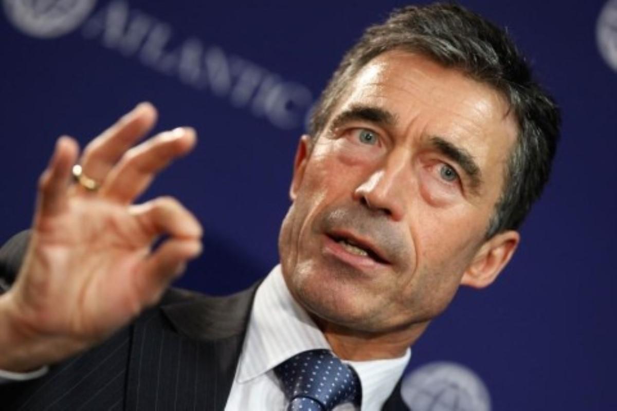 Расмуссен обещает посодействовать обеспечению безопасности вгосударстве Украина