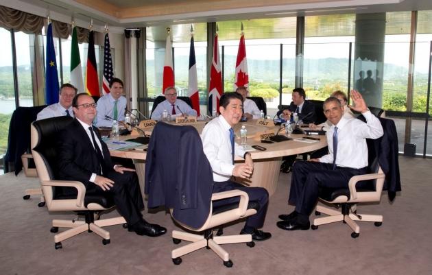 Лидеры G7 выступили запродолжение санкций против России