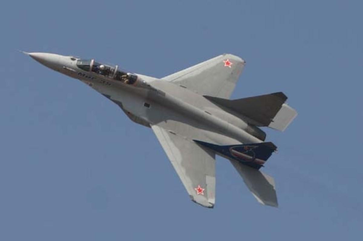 Разбившийся вПодмосковье самолет является истребителем Су-27 «Русских витязей»