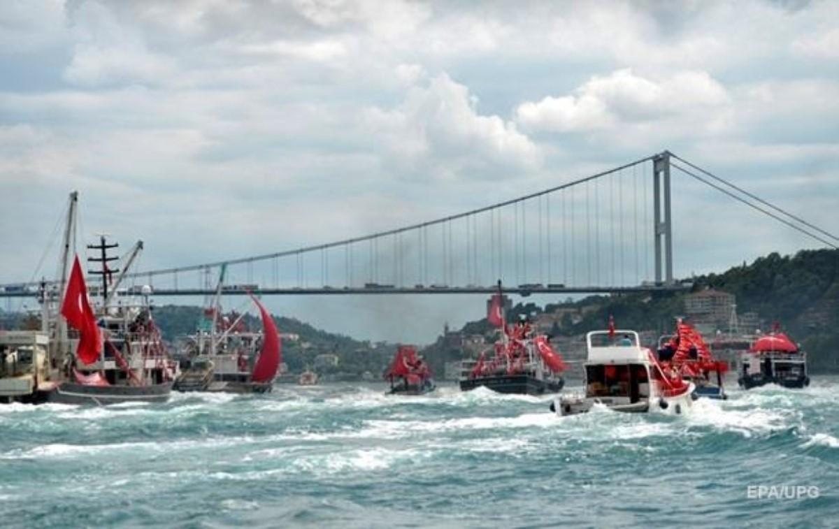Умер член экипажа, пролив закрыт— Кораблекрушение вБосфоре