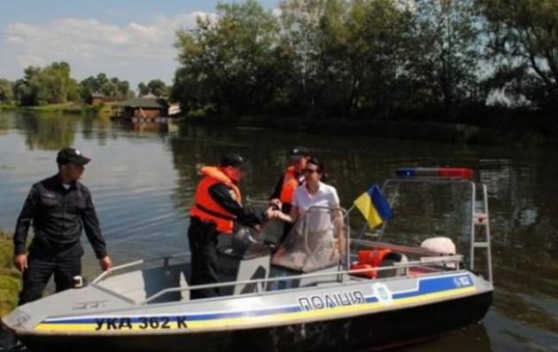 ВКиевской области начал работу полицейский патруль наводе