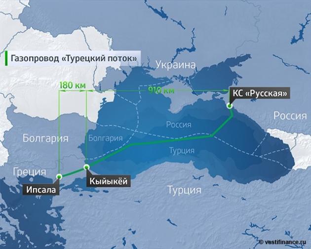 Миллер: Анкара подтвердит разрешение «Газпрому» научасток «Турецкого потока»