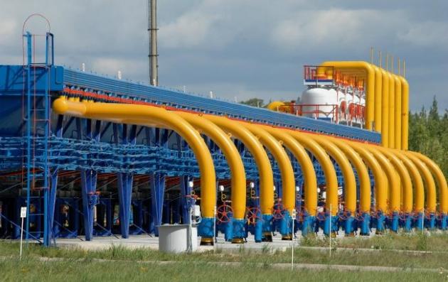 Украина обвинила «Газпром» вснижении давления газа навходе вГТС