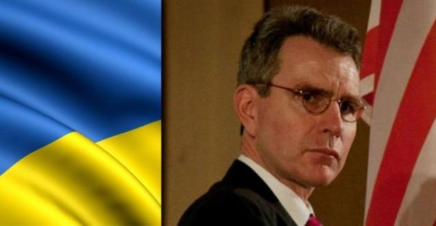 Посол США Дж.Пайетт объявил , что прощается ибудет помнить Майдан