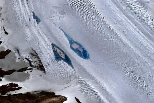 Ледник Антарктиды исчезает