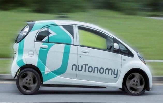 ВСингапуре начало работать первое вмире такси наавтопилоте