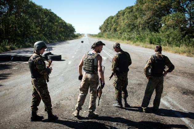 НаДонбассе зафиксировано 11 обстрелов