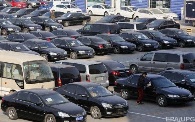 Вгосударстве Украина уменьшилось количество б/у авто