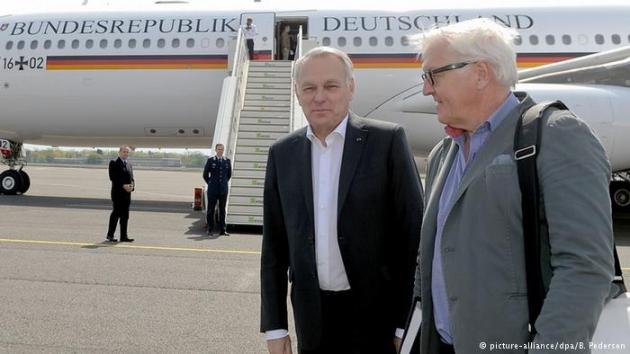 Министры иностранных дел Германии иФранции посетят Украинское государство