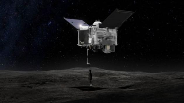 Запуск ракеты-носителя Atlas Vскосмическим прибором OSIRIS-REx