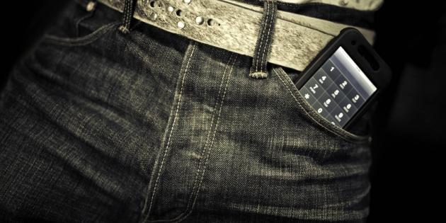 Мужчинам нестоит носить мобильные телефоны вкарманах штанов— Ученые