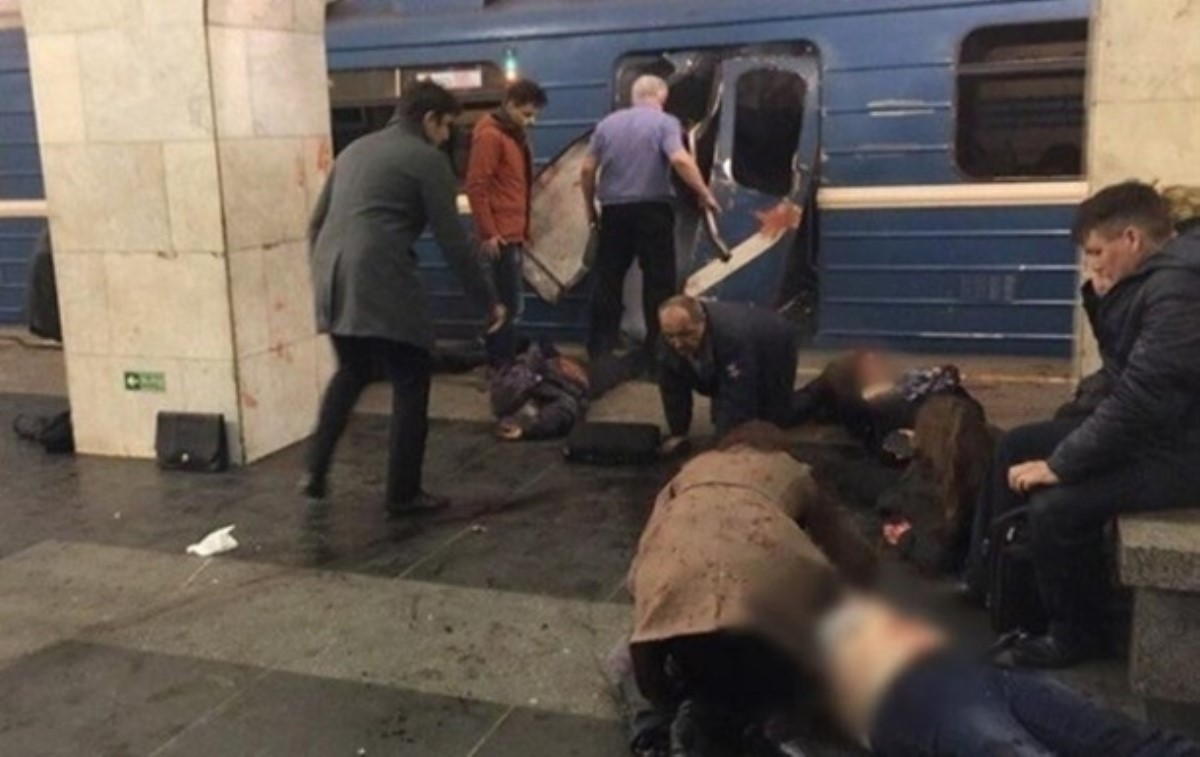 ФСБ объявила озадержании организатора теракта вметро Петербурга