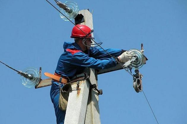 ВАвдеевке электроснабжение восстановили на15%