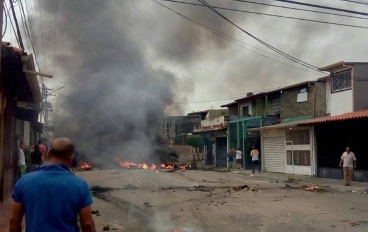 ВВенесуэле протестующие сожгли дом экс-президента страны Уго Чавеса