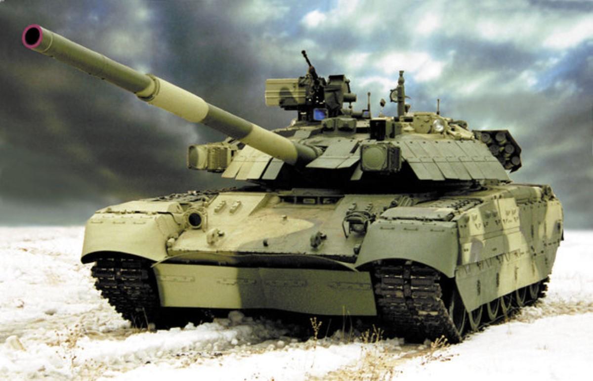 «Укрощение зверя»: вweb-сети интернет показали новые украинские танки «Оплот»