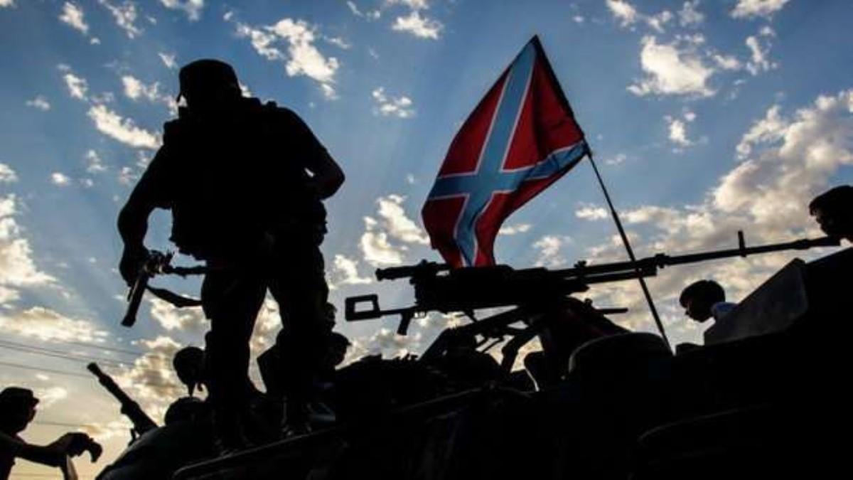 От «дружественного огня» боевиков умер десяток террористов напередовой вАвдеевке