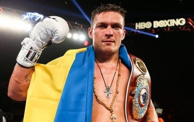 Усик возглавил рейтинг боксеров-тяжеловесов поверсии The Ring