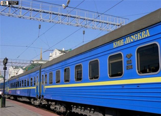 Коммерсантъ проинформировал о вероятном прекращении железнодорожного сообщения с Украинским государством