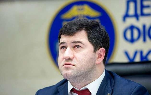 Насиров просит НАБУ отпустить его налечение вСША