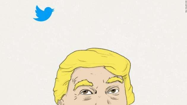 Трамп предложил читателям твиттера разгадать слово «covfefe»