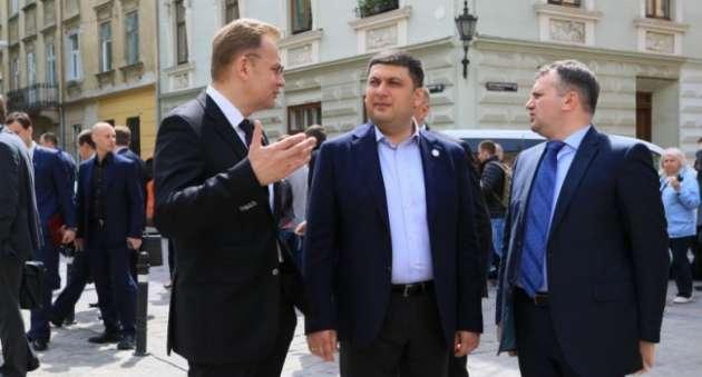 Гройсман возложил нальвовского главы города вину забездействие Кабмина
