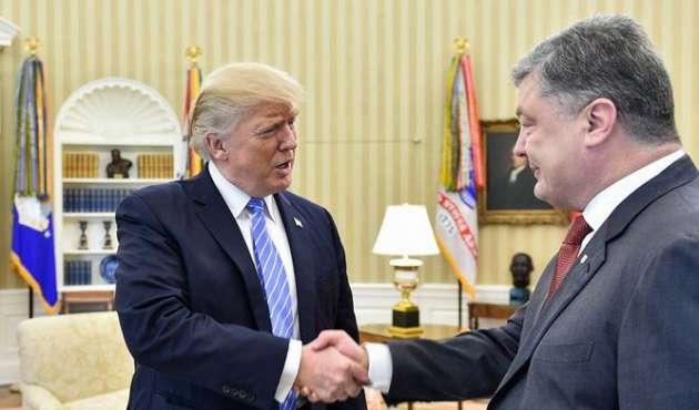 Петр Порошенко рад тому, что встретится сДональдом Трампом раньше Владимира Путина