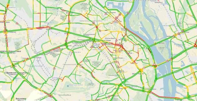 Сервис «Яндекс.Карты» вновь заработал вгосударстве Украина