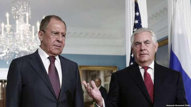 Тиллерсон предупредил Лаврова оготовящемся объявлении  поСирии