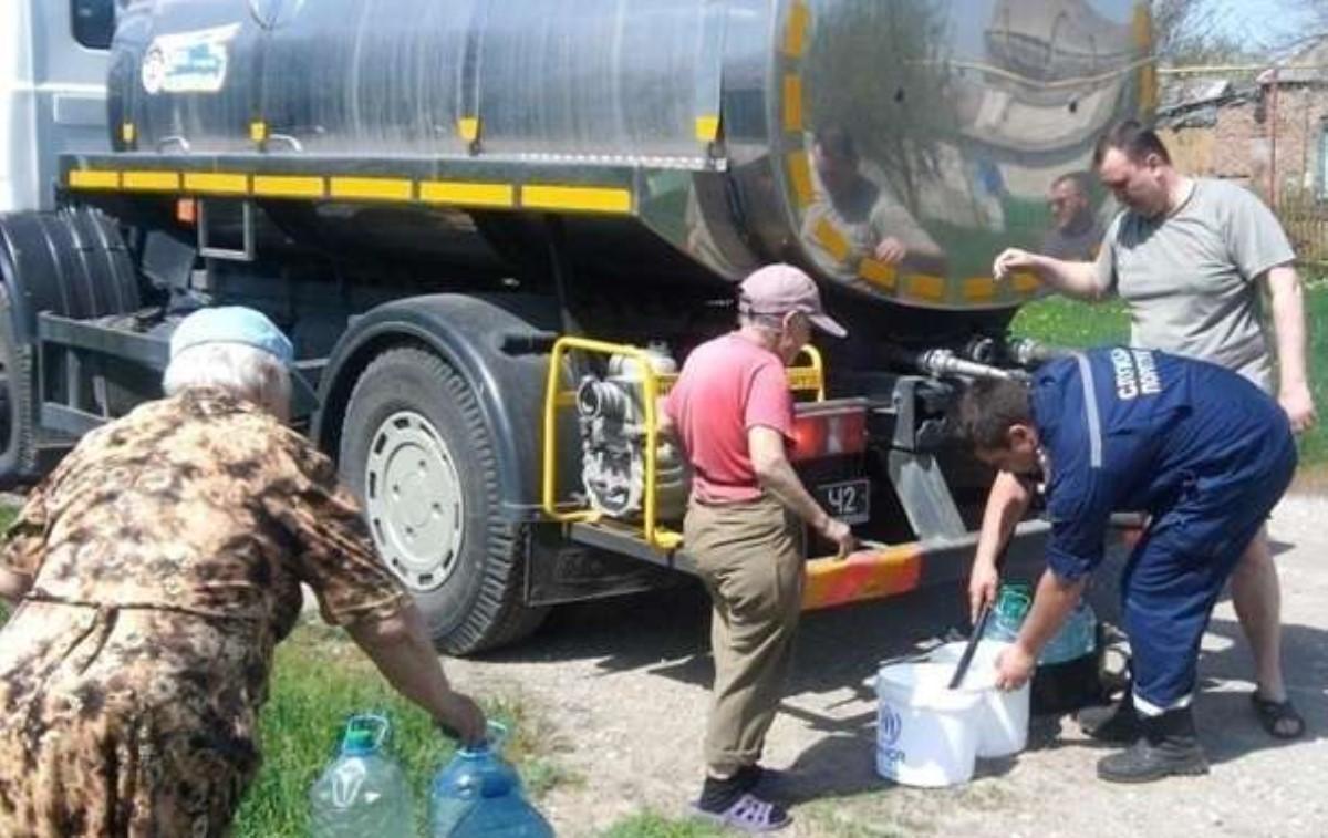 40 тысяч человек вЛуганской области осталось без воды