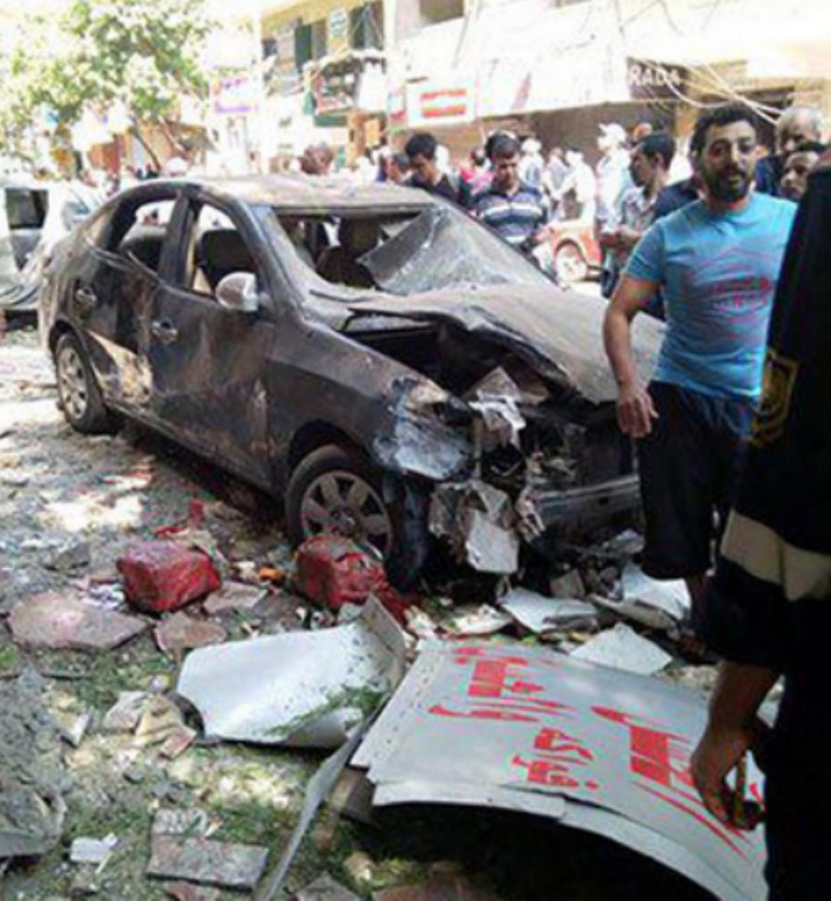 ВКаире прогремел мощнейший взрыв