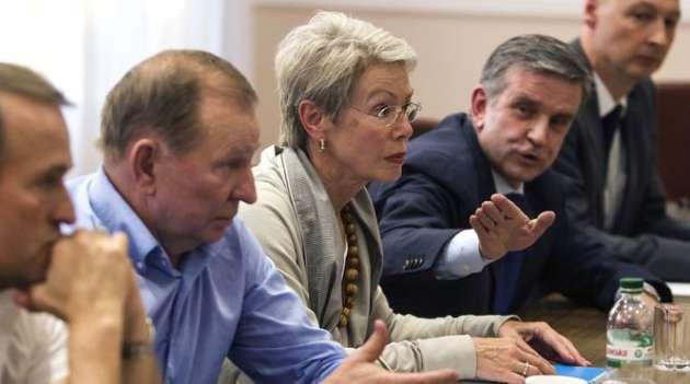 Делегации Российской Федерации иополченцев Донбасса покинули переговоры вМинске