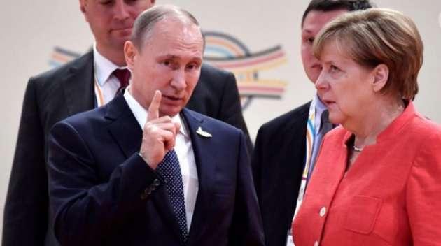 Путин, Меркель, Макрон— клуб «Завтрак»