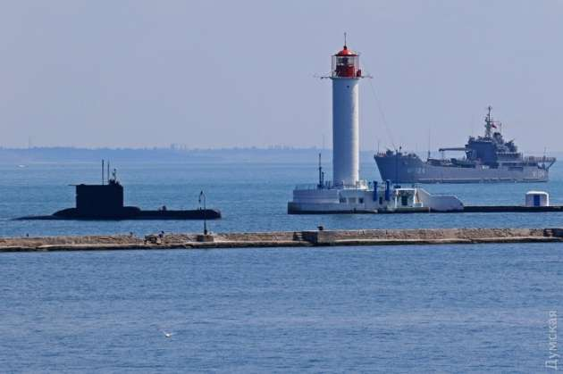 ВЧерном море начинаются военные учения Sea Breeze