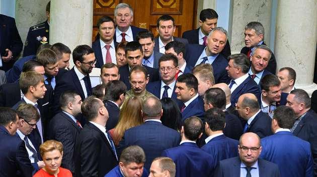 Кононенко: «Фракция приняла решение исключить Розенблата»