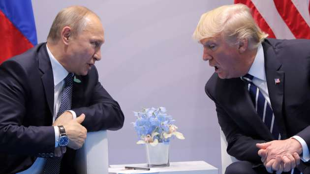 Мы замечательно поладили сПутиным— Трамп