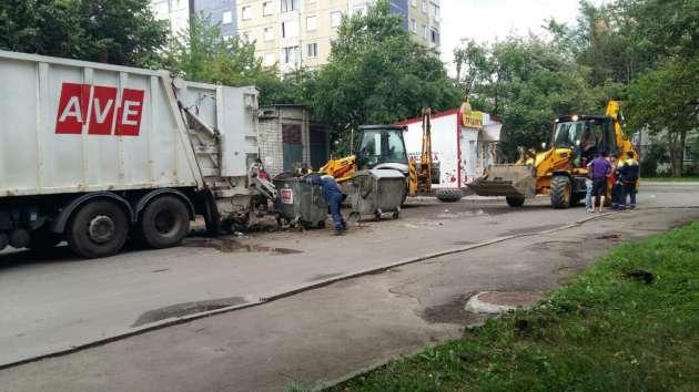 ВоЛьвове завершили уборку всех мусорных площадок— ОГА