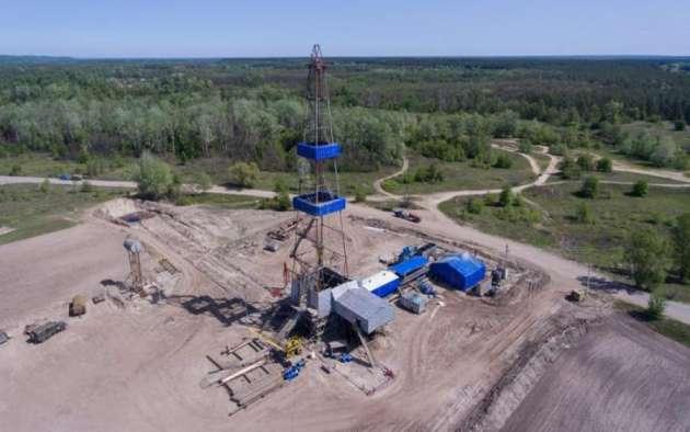 Укргаздобыча поставила пятилетней рекорд по дневной добыче газа