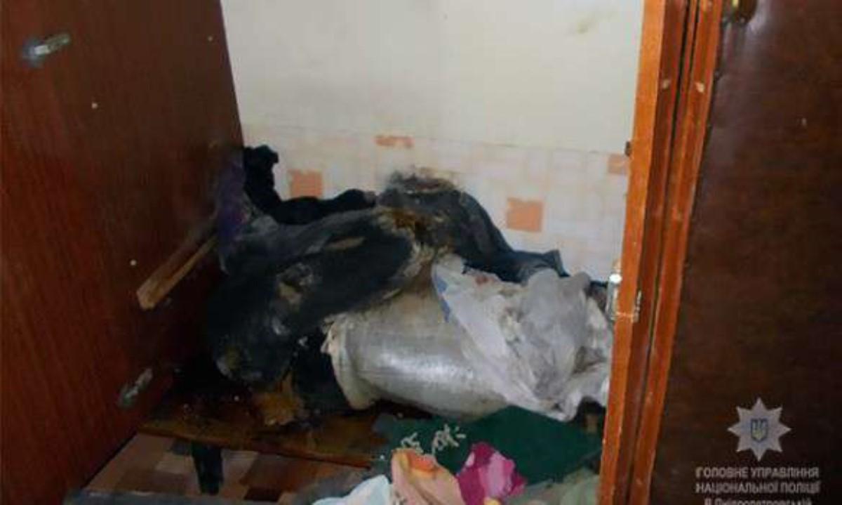 НаДнепропетровщине убийца полгода сохранял  вшкафу мумию любимой (фото 18+)