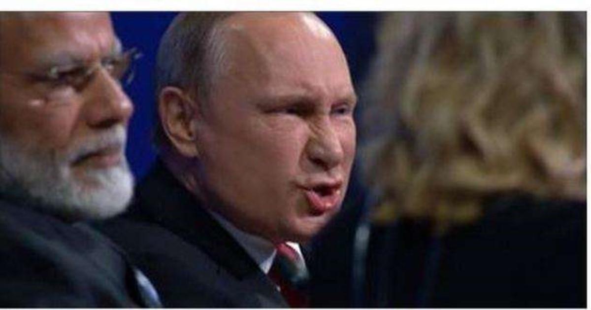 Киев направил российской столице ноту протеста из-за визита В.Путина вКрым