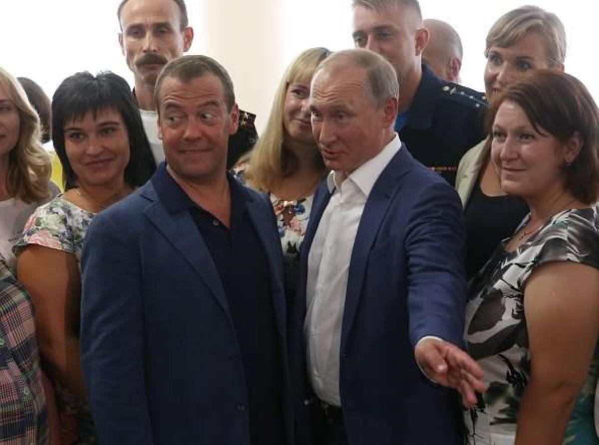 Путин посетил «Оперу вХерсонесе»