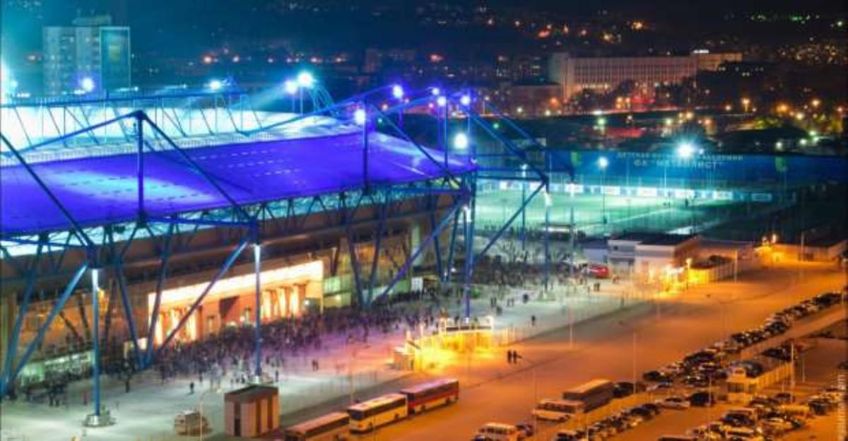 Как фанаты сборной Украины прошли 5-тысячным маршем поХарькову