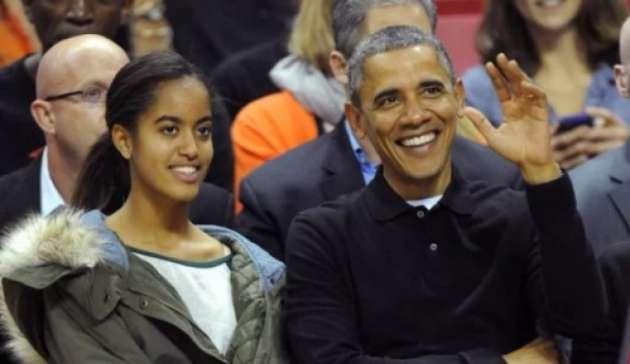 Превосходно погуляла: дочку Обамы довелось увозить сфестиваля
