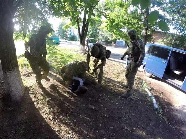 СБУ задержала наДонбассе боевика избанды «Призрак»