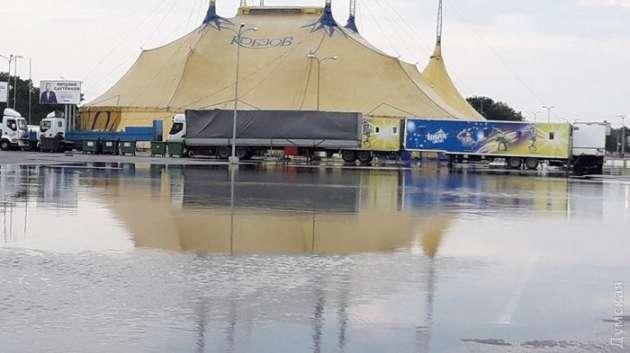 Улицы города снова оказались под водой— Непогода вОдессе
