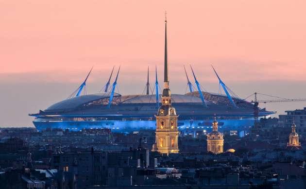 Бакланы вызвали проблемы сэксплуатацией крыши стадиона «Санкт-Петербург»— Албин