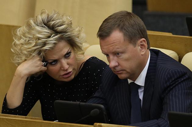 Вороненков «объявился» убывшей супруги