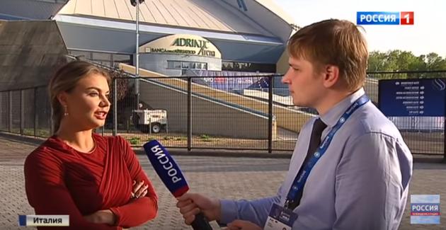 Кабаева поддержала мужчин вхудожественной гимнастике