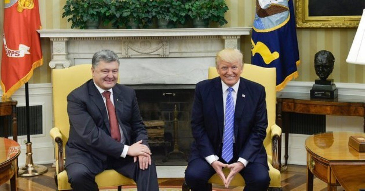 США поддержали украинскую позицию помиротворцам— Порошенко
